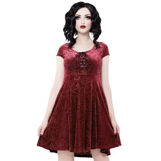 Rochie damă KILLSTAR - Angelyn - VIN, KILLSTAR