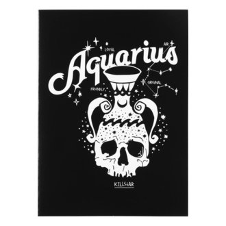 Felicitare KILLSTAR - Aquarius - BLACK, KILLSTAR
