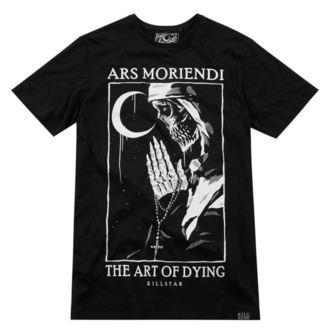 Tricou bărbătesc KILLSTAR - Ars Moriendi - BLACK
