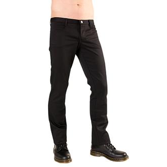 pantaloni Negru Pistol - Hipster dril Negru, BLACK PISTOL