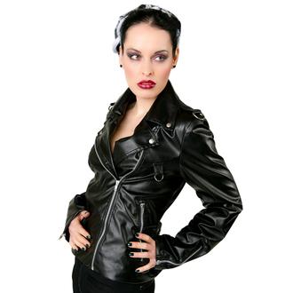 geacă de piele femei - Biker Jacket Sky Black - BLACK PISTOL, BLACK PISTOL
