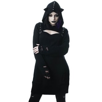 Pulover damă - Bad Kitty - BLACK, KILLSTAR