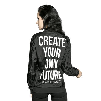 sacou primăvară/ toamnă unisex - Create Your Own Future - BLACK CRAFT, BLACK CRAFT