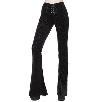 Pantaloni damă KILLSTAR - Bellatrix - BLACK, KILLSTAR