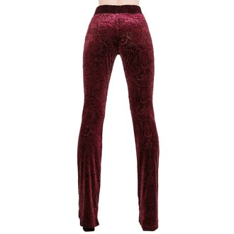 Pantaloni damă KILLSTAR - Bellatrix - WINE, KILLSTAR
