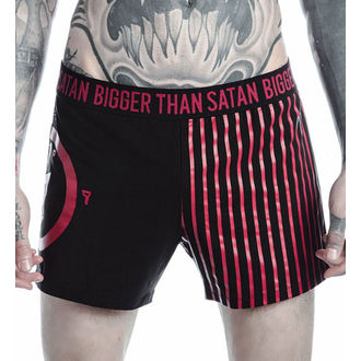 Pantaloni scurți boxeri bărbaţi KILLSTAR - MARILYN MANSON - Bigger Than Satan - Black, KILLSTAR, Marilyn Manson