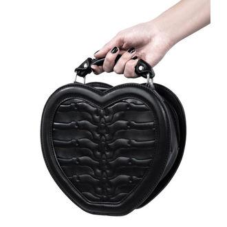 Poșetă (geantă de mână) KILLSTAR - Black Heartz - Black, KILLSTAR