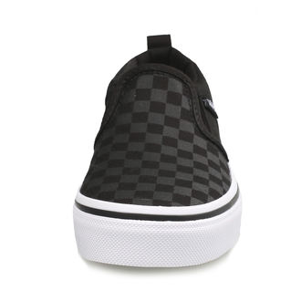 adidași scurți copii - YT ASHER (Checker)Blk/Bl - VANS
