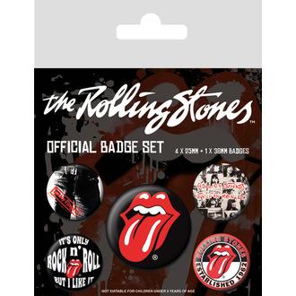 Insigne cu ac de prindere Rolling Stones - (&&string0&&) - PYRAMID POSTERS, PYRAMID POSTERS, Rolling Stones