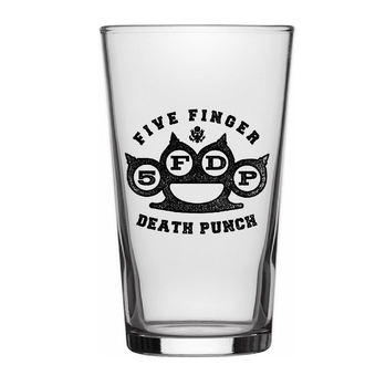 Pahar FIVE FINGER DEATH PUNCH - KNUCKLE LOGO - RAZAMATAZ, RAZAMATAZ, Five Finger Death Punch