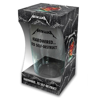 Pahar METALLICA - HARDWIRED TO SELF DESTRUCT - RAZAMATAZ, RAZAMATAZ, Metallica