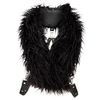 Eșarfă KILLSTAR - CALYPSO FUR - BLACK, KILLSTAR