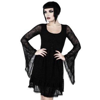 Rochie damă KILLSTAR - CASKET CUTIE WEB - BLACK, KILLSTAR