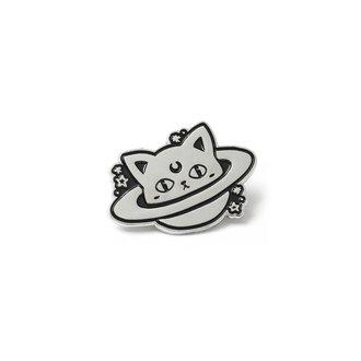 Insignă KILLSTAR - CAT PLANET - BLACK, KILLSTAR