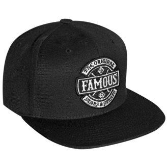 Șapcă FAMOUS STARS & STRAPS - CHAOS - BLACK, FAMOUS STARS & STRAPS