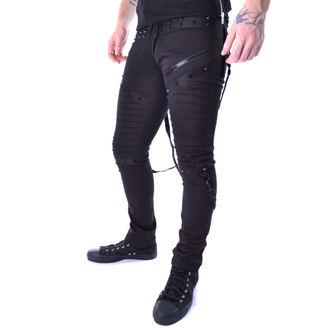 Pantaloni bărbătești Vixxsin - CHROME - BLACK, VIXXSIN