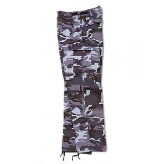 Pantaloni bărbaţi SURPLUS - RANGER TROUSER - BLUE camo