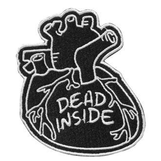 Petic ușor de călcat KILLSTAR - Dead Inside - BLACK, KILLSTAR
