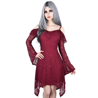 Rochie damă KILLSTAR - Deadly beloved - WINE