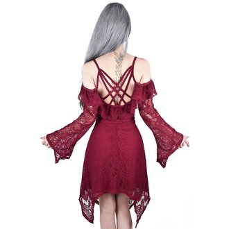 Rochie damă KILLSTAR - Deadly beloved - WINE, KILLSTAR