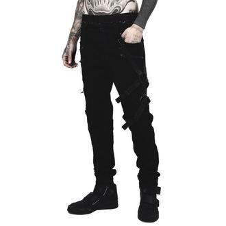 Pantaloni a bărbaţilor KILLSTAR - DEATH WISH - NEGRU, KILLSTAR