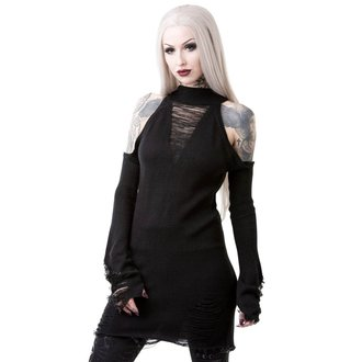 Pulover damă KILLSTAR - DEPTHS OF DARKNESS - BLACK, KILLSTAR