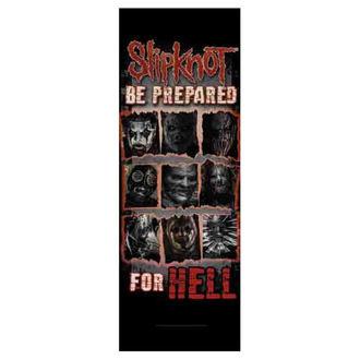 Steag Slipknot - Be Prepared for Hell, HEART ROCK, Slipknot