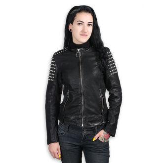 geacă de piele femei AC-DC - BLACK - NNM, NNM, AC-DC
