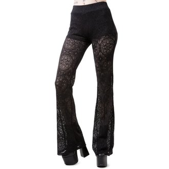 Pantaloni damă  KILLSTAR - DREAM ON BELL - BLACK, KILLSTAR