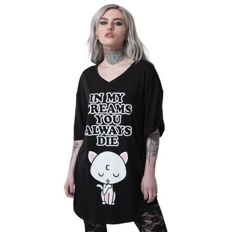 Pijama tricou KILLSTAR - DREAMS - BLACK, KILLSTAR