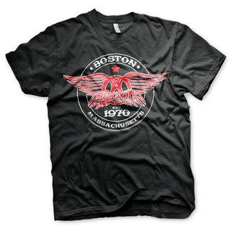 tricou stil metal bărbați Aerosmith - Est. 1970, Boston - HYBRIS, HYBRIS, Aerosmith