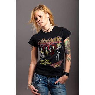 tricou stil metal femei Aerosmith - Band - HYBRIS, HYBRIS, Aerosmith