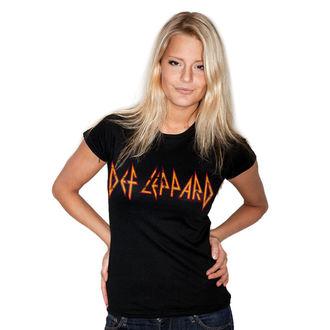 tricou stil metal femei Def Leppard - Distressed - HYBRIS, HYBRIS, Def Leppard