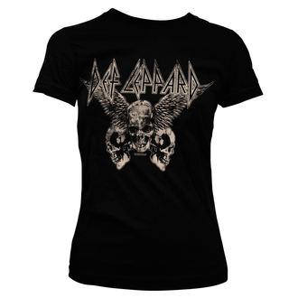 tricou stil metal femei Def Leppard - Flying Skulls - HYBRIS, HYBRIS, Def Leppard
