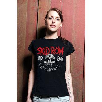 tricou stil metal femei Skid Row - New Jersey - HYBRIS, HYBRIS
