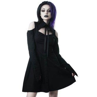 Rochie cămașă damă KILLSTAR - Exorcista - BLACK, KILLSTAR