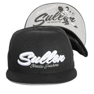 Șapcă SULLEN - NEEDLE PUSHER - BLACK, SULLEN