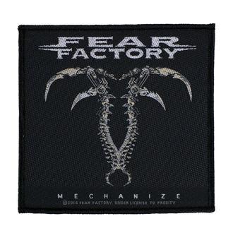 Petic FEAR FACTORY - MECHANIZE - RAZAMATAZ, RAZAMATAZ, Fear Factory