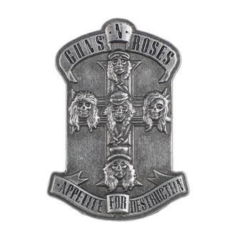 Insignă Guns N' Roses - Appetite - RAZAMATAZ, RAZAMATAZ, Guns N' Roses