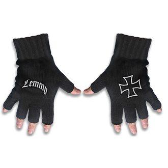 Mănuși fără degete Motörhead - LEMMY - LOGO & IRON CROSS - RAZAMATAZ, RAZAMATAZ, Motörhead