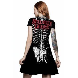 Rochie damă KILLSTAR - Rob Zombie - Foxy Bones Skater - BLACK, KILLSTAR, Rob Zombie