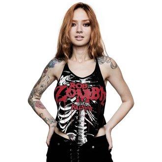Maieu tank damă KILLSTAR - ROB ZOMBIE - Foxy Bones Rocker - BLACK, KILLSTAR, Rob Zombie