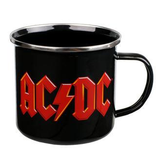 Halbă email AC / DC - Logo, NNM, AC-DC