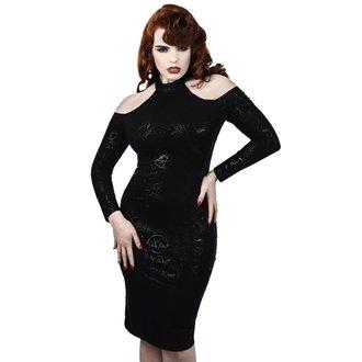 Rochie damă KILLSTAR - GRAVE GIRL HALTER - BLACK, KILLSTAR