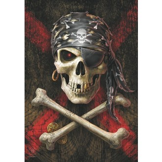 Steag Anne Stokes - Pirate Skull, ANNE STOKES