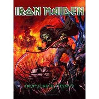 Steag Iron Maiden - from Fear to Eternity, HEART ROCK, Iron Maiden