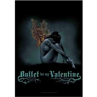 Steag Bullet For My Valentine - Burning Wings, HEART ROCK, Bullet For my Valentine