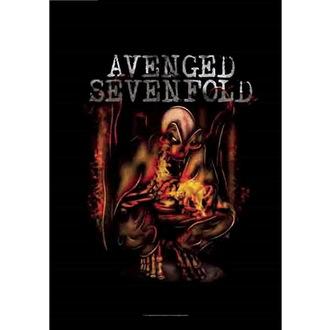 Steag Avenged Sevenfold - Fire Bat, HEART ROCK, Avenged Sevenfold