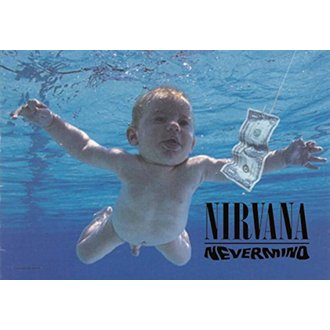 Steag Nirvana - Nevermind, HEART ROCK, Nirvana