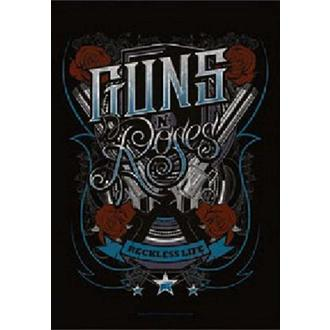 Steag Guns N' Roses - Recklesslife, HEART ROCK, Guns N' Roses